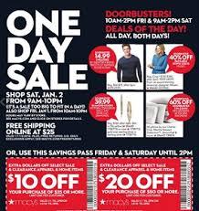 macys sale ad january 1 2 2016 one day sale
