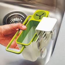 Kitchen Sink Brush New Practical Kitchen Sink Brush Sponge Cloth Rack Tools Suction
