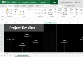 Free Project Timeline Template Excel How To Easily Create Project Timeline In Excel