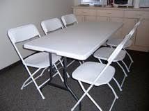 Table And Chair Rental Table And Chair Rentals Generator Rentals Canopy Rentals