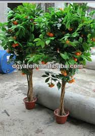 beautiful artificial orange trees of ceramic pots buy