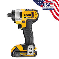dewalt 20 volt max lithium ion cordless 1 4 in impact driver with