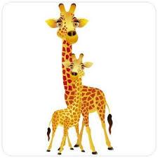 stickers savane chambre bébé sticker girafes un autocollant savane pour chambre enfant et bébé