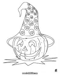 coloring pages kids halloween pumpkin head coloring page source