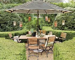 White Patio Umbrella Gorgeous Design For Striped Patio Umbrella Ideas Backyard Dining