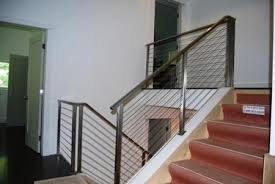 Cable Banister Cable Railing 479 W A Iron Works Inc Wrought Iron Railings