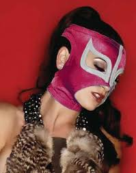 Luchador Halloween Costume Ladies Pink Women Mask Mexican Wrestling Mask Lucha