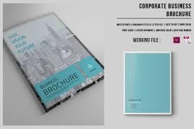 brochure template 70 modern corporate brochure templates design shack