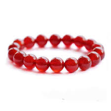 red stone bracelet images Rose red stone beads bracelets diy natural red stones elastic jpg