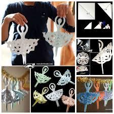 creative ideas diy adorable snowflake ballerinas ballerina