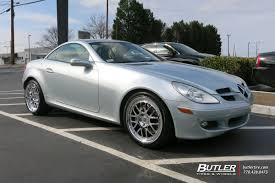 lexus auto valencia mercedes slk with 18in tsw valencia wheels exclusively from butler