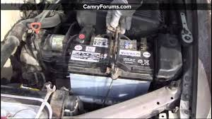 toyota yaris car battery toyota camry how to replace the battery