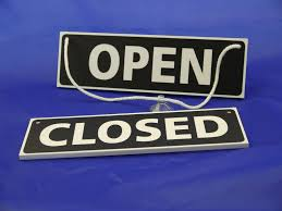 open closed sign ebay
