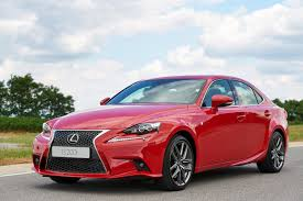 red lexus 2015 lexus turbocharges is goauto