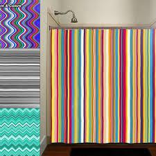 Shower Curtain Striped Shop Black Striped Shower Curtain On Wanelo