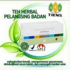 Teh Tiens tianshi jiang shi tea teh hijau pelangsing badan shopee indonesia