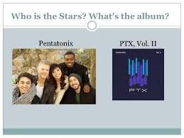 image through album covers pentatonix