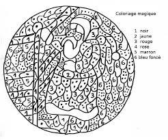 Coloriage magique gloups  Laborde yves