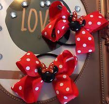 mickey mouse hair bow mickey mouse hair accessories for ebay