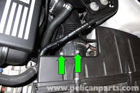 bmw maf sensor bmw e90 mass air flow sensor replacement e91 e92 e93 pelican