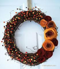 diy wreaths 26 easy diy fall wreaths best wreaths for fall