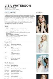 makeup artist resume template makeup artist resume exle make up artist portfolio sles