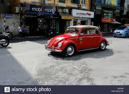 vintage volkswagen convertible red convertible volkswagen beetle in hanoi vietnam southeast