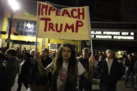 resident trump protesters in oakland express frustration with trump u0027s electoral