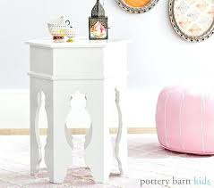 small white side table for nursery white side table nursery small for round pottery barn monikakrl