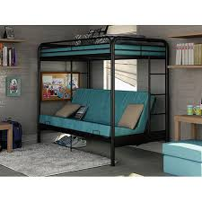 Loft Bed With Futon Dorel Futon Contemporary Bunk Bed Walmart Want
