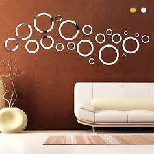 Mirror Wall Decals And Wall by Wall Ideas Circle Mirror Wall Ideas Large Circular Wall Mirrors
