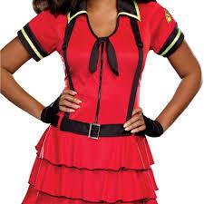 firefighter costume spirit halloween fire fighter women u0027s plus size halloween costume walmart com