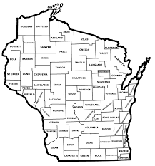 Wisconsin County Maps by Wivuch Maps And Forms
