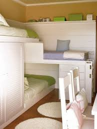 Bunk Bed For Small Spaces A Small Space Bunk Solution Bunk Bed Bunk Beds