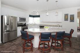 the blue kitchen counter stools how to nest for less