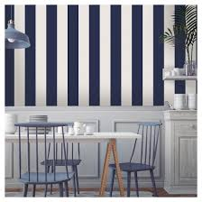 tempaper self adhesive removable wallpaper stripes navy target