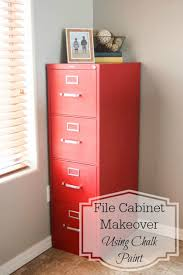 how to make chalk paint for cabinets file cabinet makeover using chalk paint pretty handy