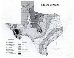 Map Of Texas Hill Country Edwards Plateau Ecology Physical Environment