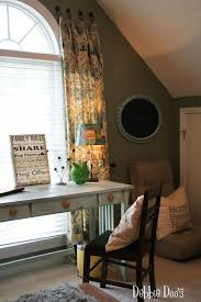 Hanging Curtains From Ceiling To Floor by How To Hang Curtains With Towel Hooks Debbiedoos