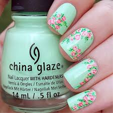 101 cute flower nail designs that u0027re too attractive to handle