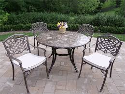 Iron Patio Dining Set Outdoor Patio Dining Chairs
