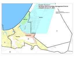 monterey peninsula water management district voter division maps