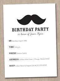 mustache birthday invitations iidaemilia com