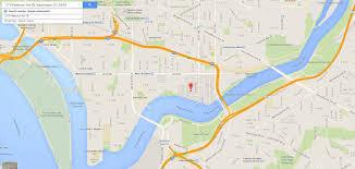 Google Maps Washington Dc by Navy Yard Slug Line