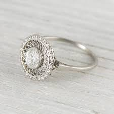 vintage and antique engagement rings wedding promise diamond