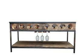 sofa table with wine rack wrought iron wine rack table elegant custom metal wine racks metal