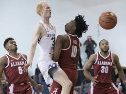 Alabama how to travel with no money images No 25 alabama tops byu in barclays center classic jpg