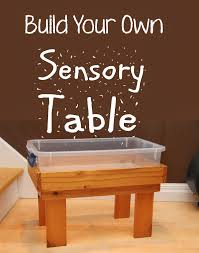 how to build a sensory table blue sky parent build your own sensory table