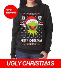 Christmas Sweater Meme - kermit the frog ugly christmas meme sweater party all sizes free