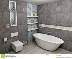 Gray Bathroom - modern gray bathroom stock illustration image 45191929